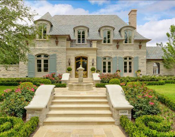 French Country Home Exterior