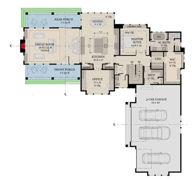 Floor Plan inspiration for Down Leah's Lane's new Modern Farmhouse