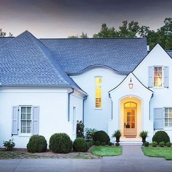 awesome modern french country white house exterior