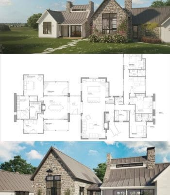 Modern Farmhouse Sprawl Floor Plan