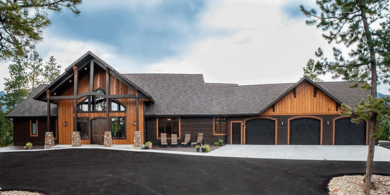 Nordaas American Homes custom building house ranch mountain transitional