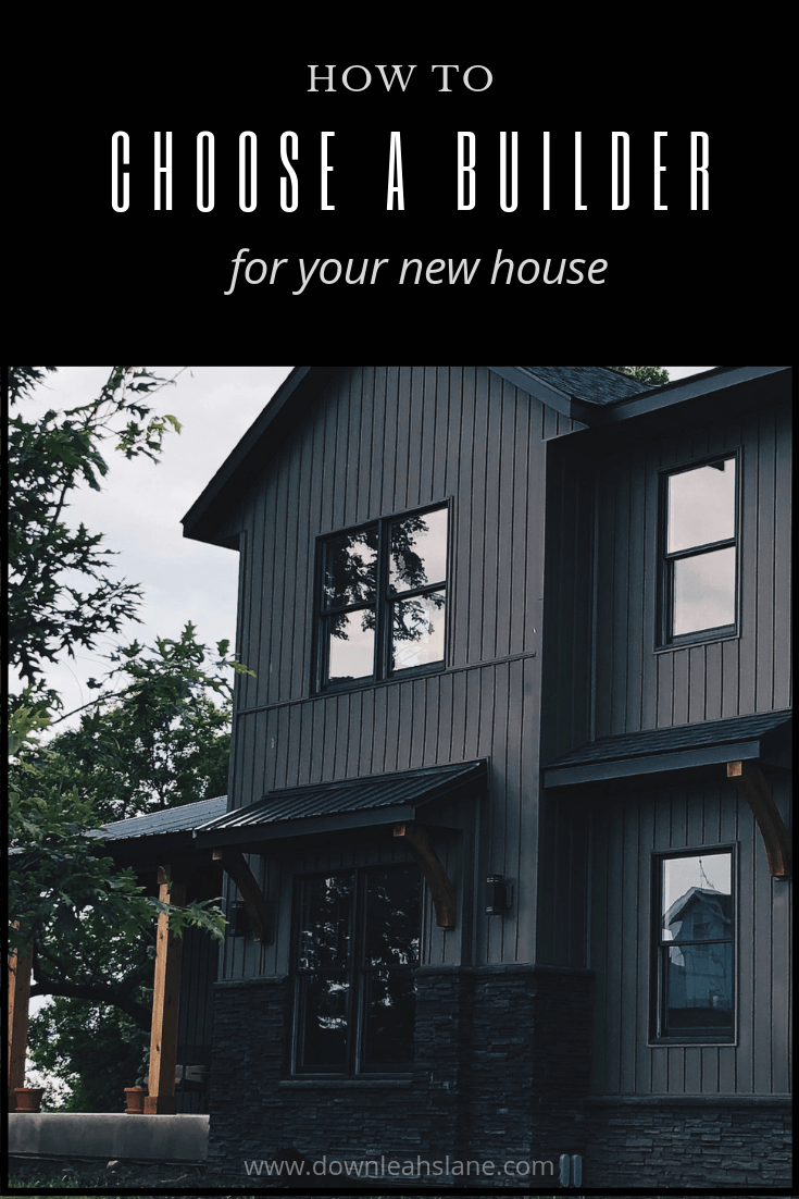 How to Choose a Builder for Your New House
