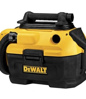 dewalt cord and cordless vacuum for easy use with battery or plugin to clean your home garage and car
