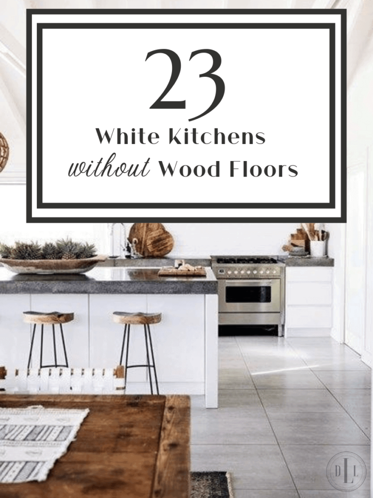 23 white kitchens without wood floors down leahs lane
