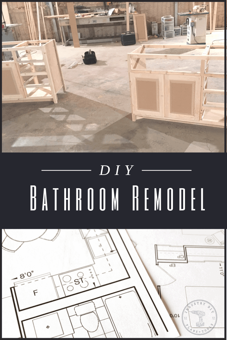 industry diy bathroom remodel with blueprints pinterest marketing design by down leahs lane