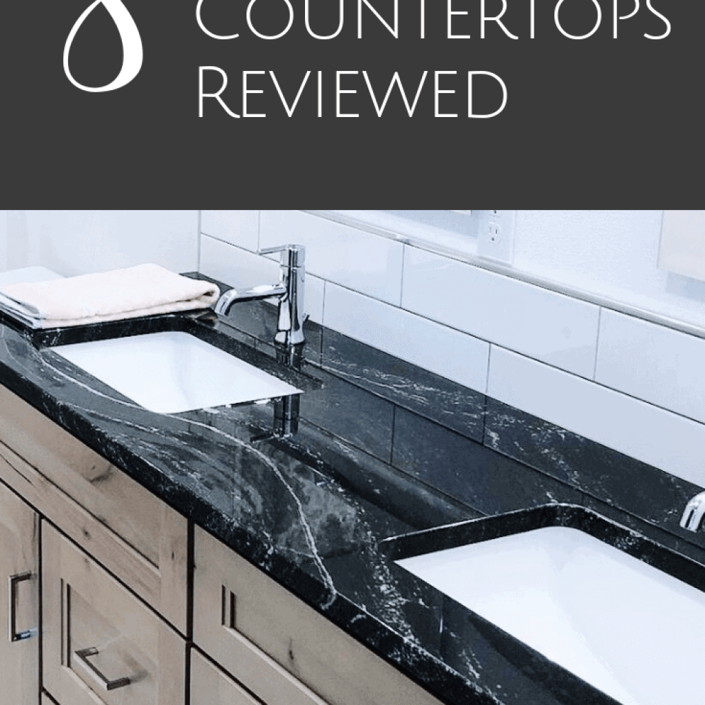 8 Stone Countertops reviewed in this complete countertop guide that helps you determine what stone countertop will work best for your new house or remodel project.