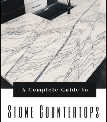 A complete guide to stone countertops including marble, quartzite, granite, quartz, porcelain, soapstone, concrete and limestone down leahs lane