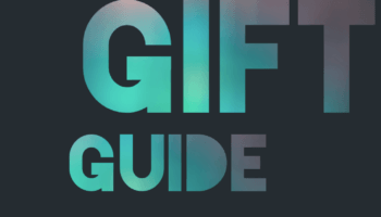 Black background with teal, turquoise and light pink gradient colors filling test Tool Gift Guide endorsed by a genuine handyman downleahslane.com